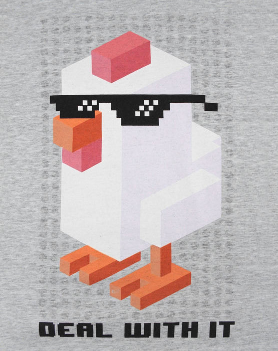 Crossy Road Deal With It Boy's T-Shirt