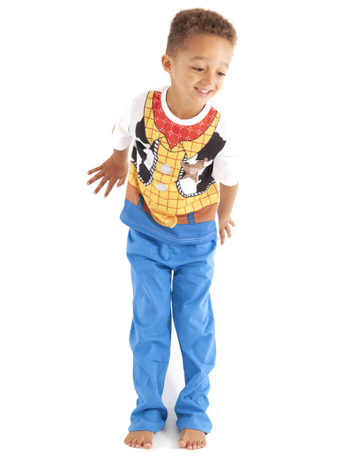 Disney Toy Story Woody Costume Boy's Kid's Pyjama Nightwear Set