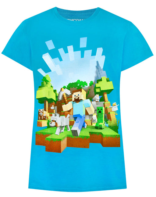 Minecraft Adventure Girl's T-Shirt