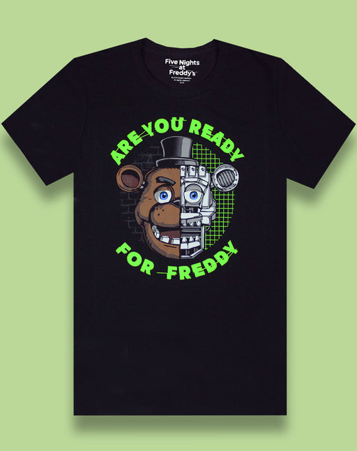 Five Nights At Freddy's I Survived Black Boy's T-Shirt