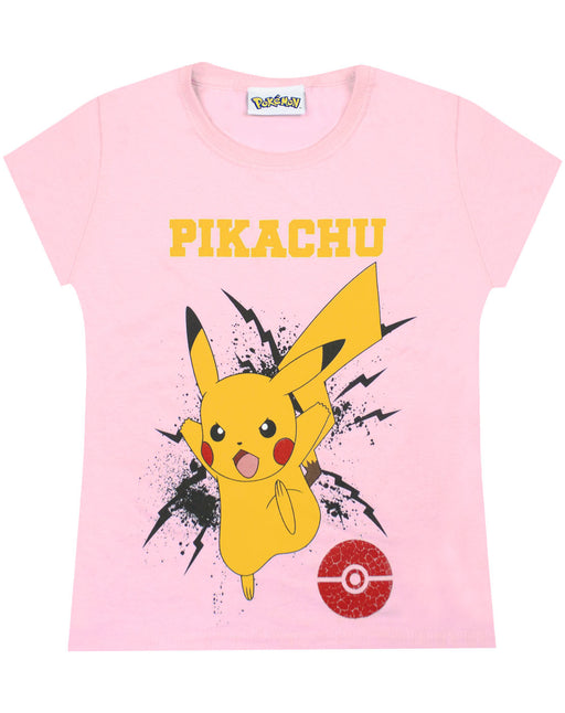 Pokemon Pikachu Bolt Girls T-Shirt