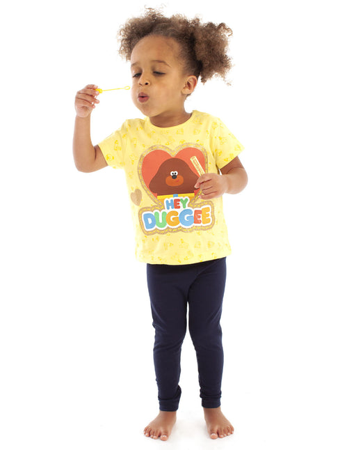 Hey Duggee Glitter Heart Girl's T-shirt