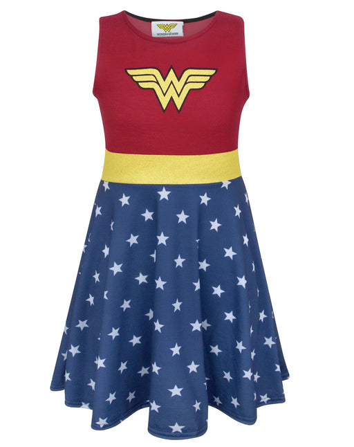 Wonder Woman Girl's Costume Dress