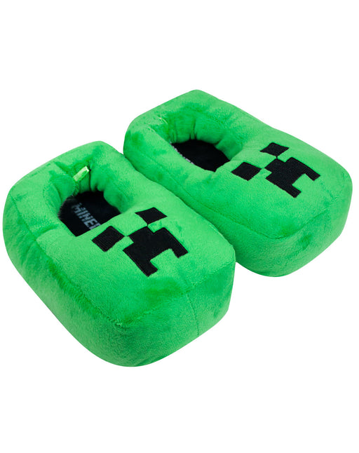Minecraft Creeper Kids/Boy's 3D Slipper