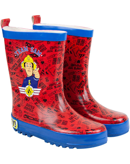 Fireman Sam Boy's Wellies