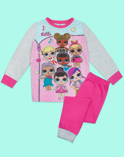 LOL Surprise! Girls Doll Pyjamas Long Sleeve Kids Nightwear
