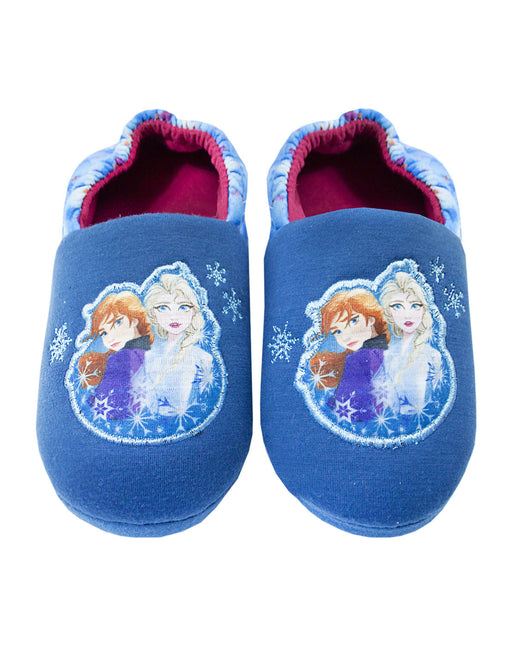"Disney Frozen 2 Anna & Elsa ""Nature Is Magical"" Girls Novelty Character Slippers"
