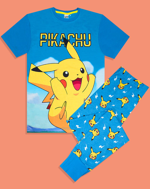 Pokemon Pikachu Kid's Long Pyjamas