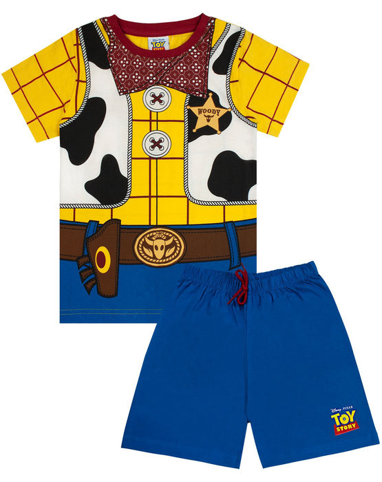 Disney Pixar Toy Story Woody Costume Boy's Short Pyjamas