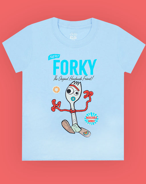 Disney Pixar Toy Story Forky Kids T-Shirt | Official Toy Story 4 Movie Merchandise
