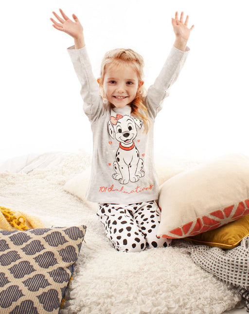 101 Dalmatians Puppies Cruella De Vil Pongo Perdy Disney Movie Pyjamas PJ's Nightwear Sleepwear Lounge-wear Night-time Girls Kids Children Cosy Comfy Winter Present Gift
