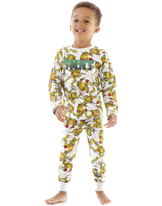Teenage Mutant Ninja Turtles All Over Print Boy's Kids Pyjamas Set