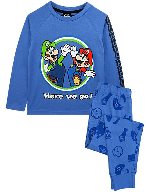 Shop Super Mario & Luigi Kids Pyjamas