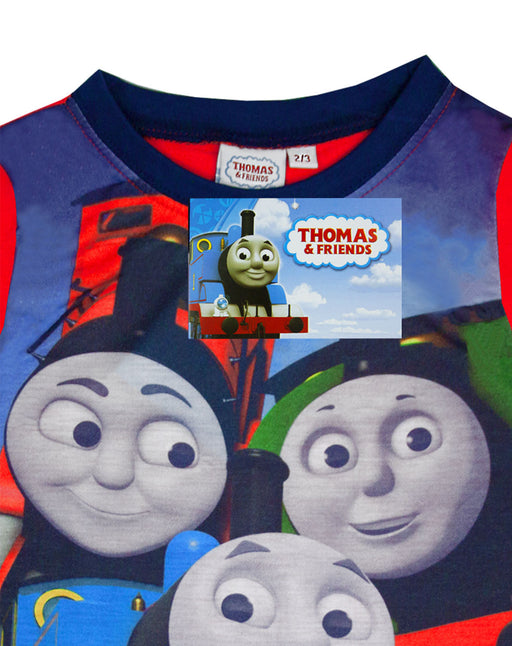 Official Thomas The Tank Engine Boys Long Sleeve Pyjamas PJs Night Wear