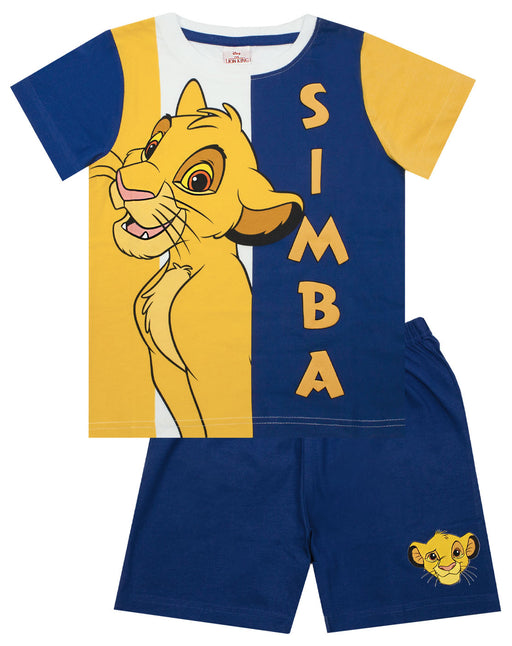 Disney Lion King Simba Boy's Short Pyjamas