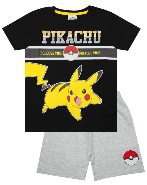 Pokemon Pikachu Electric Pokeball #025 Boy's Short Pyjamas