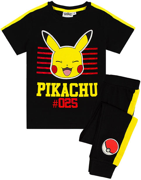 Shop Pokemon Pikachu Pyjamas For Boys