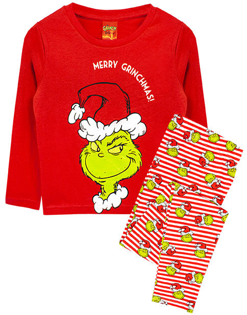 The Grinch Christmas Pyjamas - Family Matching Lounge PJ Sets for Men, Women, Boys and Girls