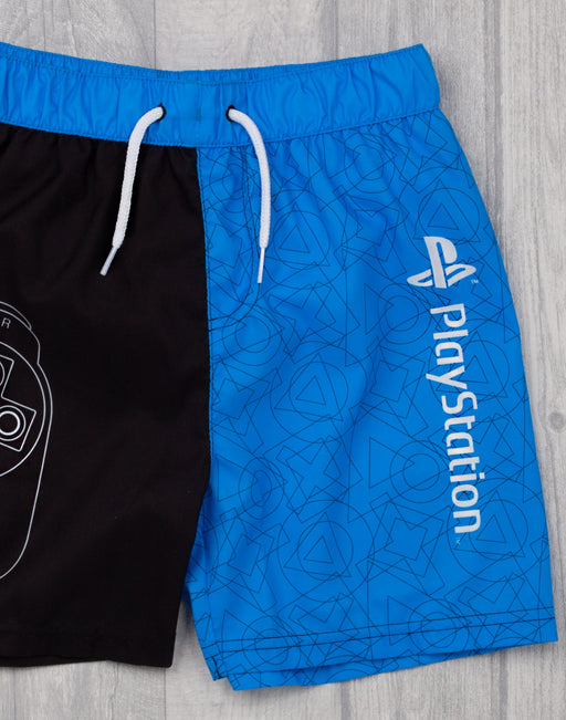 AWESOME PLAYSTATION SWIMMING SHORTS FOR BOYS - Our super cool PlayStation bathing trunks for children is the best way to splash around during holiday vacations, swimming on beach and pool days whilst staying comfortable in gamer style!