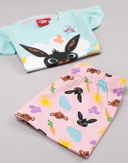 AVAILABLE IN VARIETY OF SIZES CHARACTER PAJAMAS - This Bing Bunny kids sleepwear set comes in sizes; 18-24 months, 2-3, 3-4 and 4-5 years. They come in a regular girl's fit and are made for ultimate comfort for them Bing Bunny dreams!