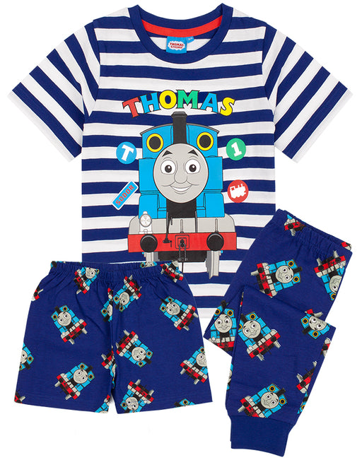 Our Thomas And Friends pyjamas for kids and toddlers is available with two options of long or short bottoms. The pjs are perfect for Thomas & Friends series, movies or train toy lovers; awesome for birthdays, costume parties and all special occasions.