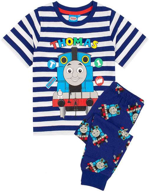 The pyjama set for children and toddlers comes in sizes 18-24 months, 2-3 years, 3-4 years and 4-5 years offering a comfortable and regular boy fit made for ultimate comfort perfect for everyday Thomas & Friends adventures!