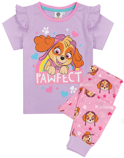 The rescue pups sleepwear set for kids is made from 100% cotton for a cosy, light and very soft to touch feel ensuring your little ones have the best Paw Patrol night sleep!
