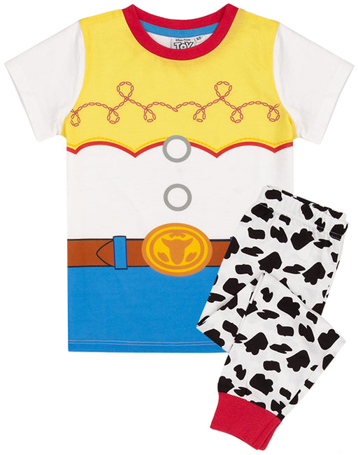 Toy Story sleepwear set is available for toddlers and children from sizes; 18-24 months, 2-3 years, 3-4 years, 4-5 years, 5-6 years and 7-8 years. The pyjama set has an elasticated waist of the bottoms that guarantees the perfect fit and makes them comfortable for all body types.