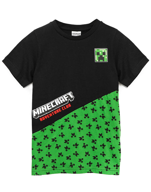 This awesome Minecraft t-shirt comes with shorts sleeves and a crew neck featuring the popular Mojang video games villain, the Creeper making a must have gift for gamers!