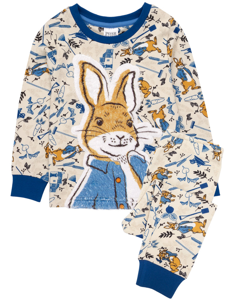 Our adorable soft to touch feel pyjamas are perfect for little ones who love watching the popular movie and are excited for the movie release of Peter Rabbit 2: The Runaway!