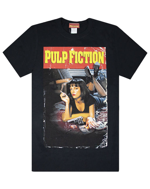 Pulp Fiction Movie Poster Black Men's T-Shirt