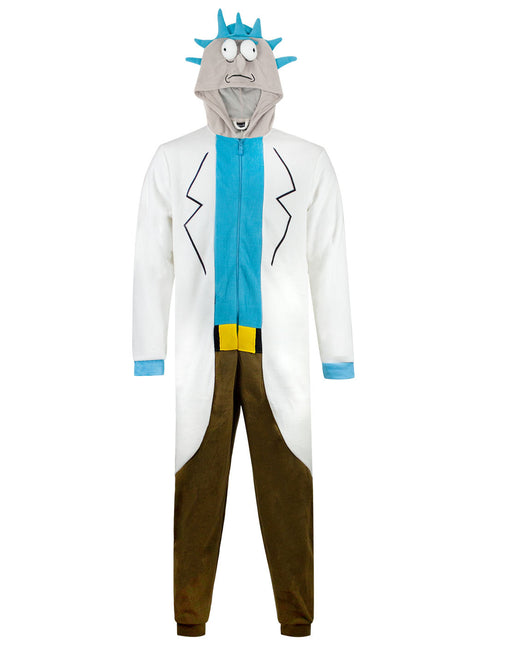 Rick and Morty Rick Sanchez Cosplay Costume Onesie