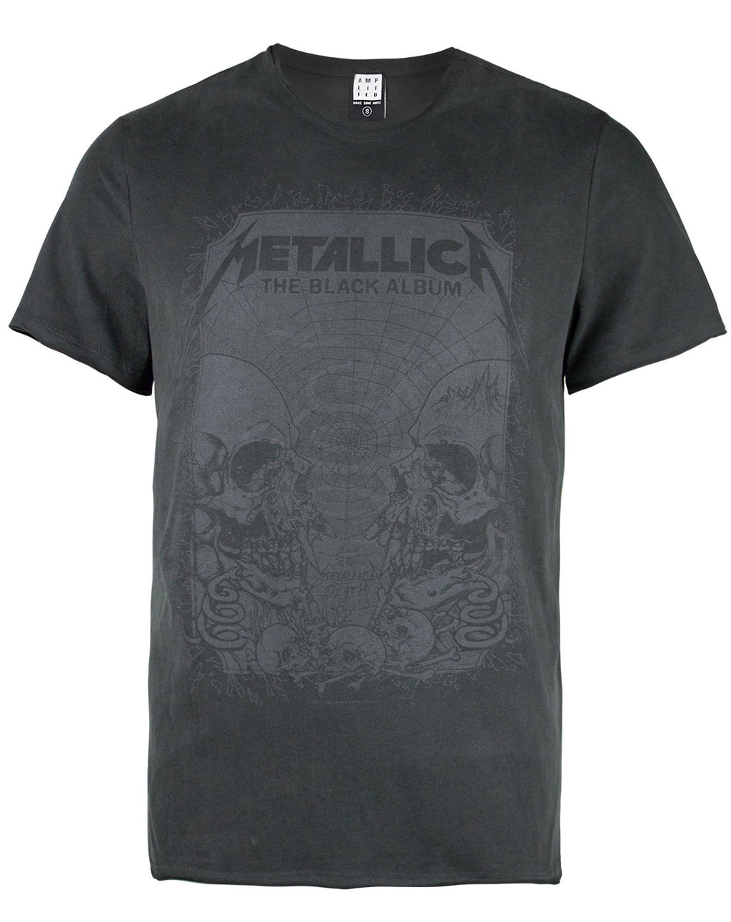 Amplified Metallica The Black Album Men's T-shirt