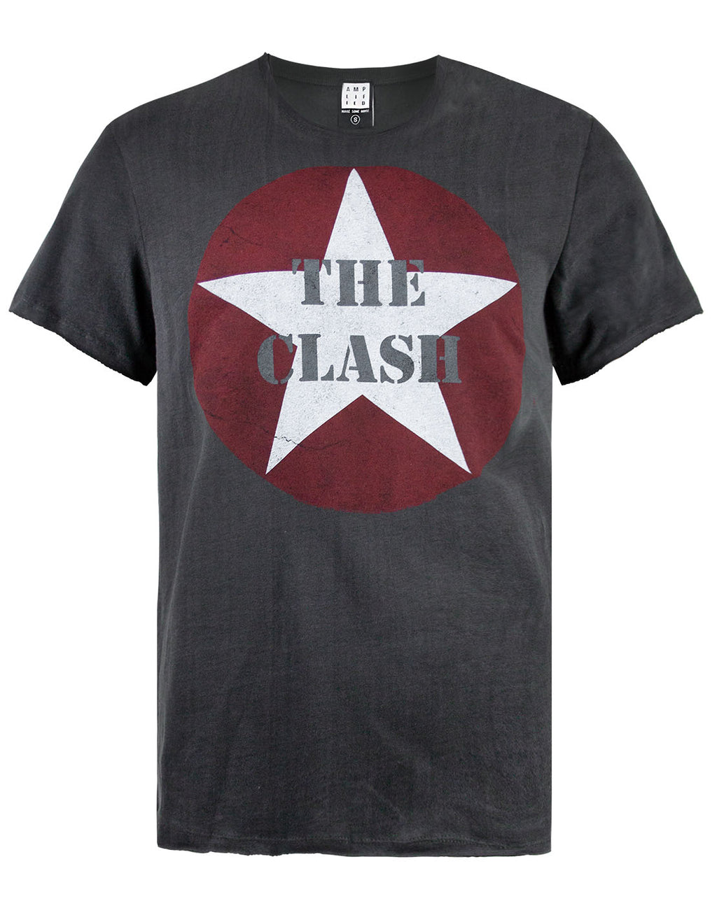Amplified The Clash Star Logo Mens T-Shirt