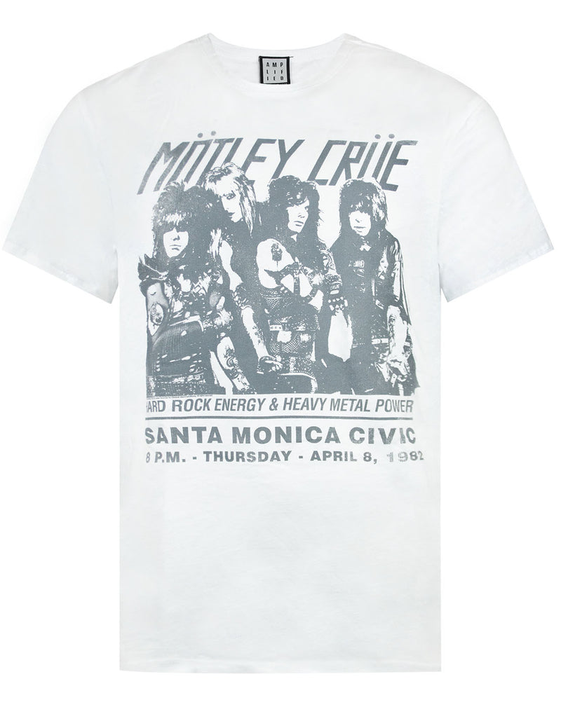 Amplified Motley Crue Santa Monica T-Shirt Mens
