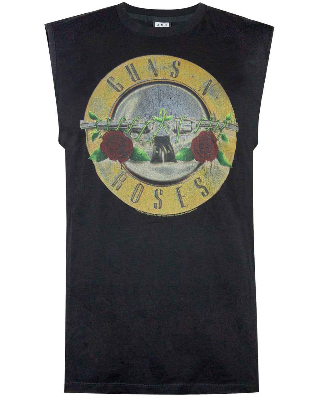 Amplified Guns N Roses Drum Men's Sleeveless T-shirt