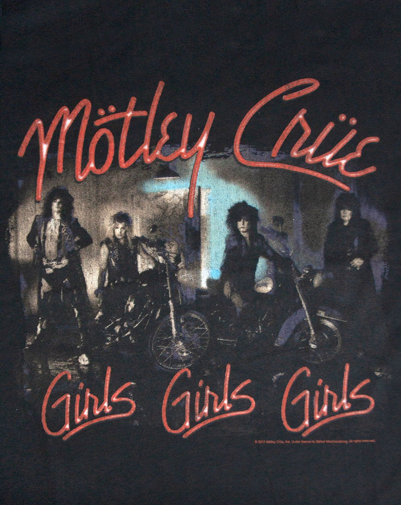 Amplified Motley Crue Girls Girls Girls Mens Sleeveless T-Shirt