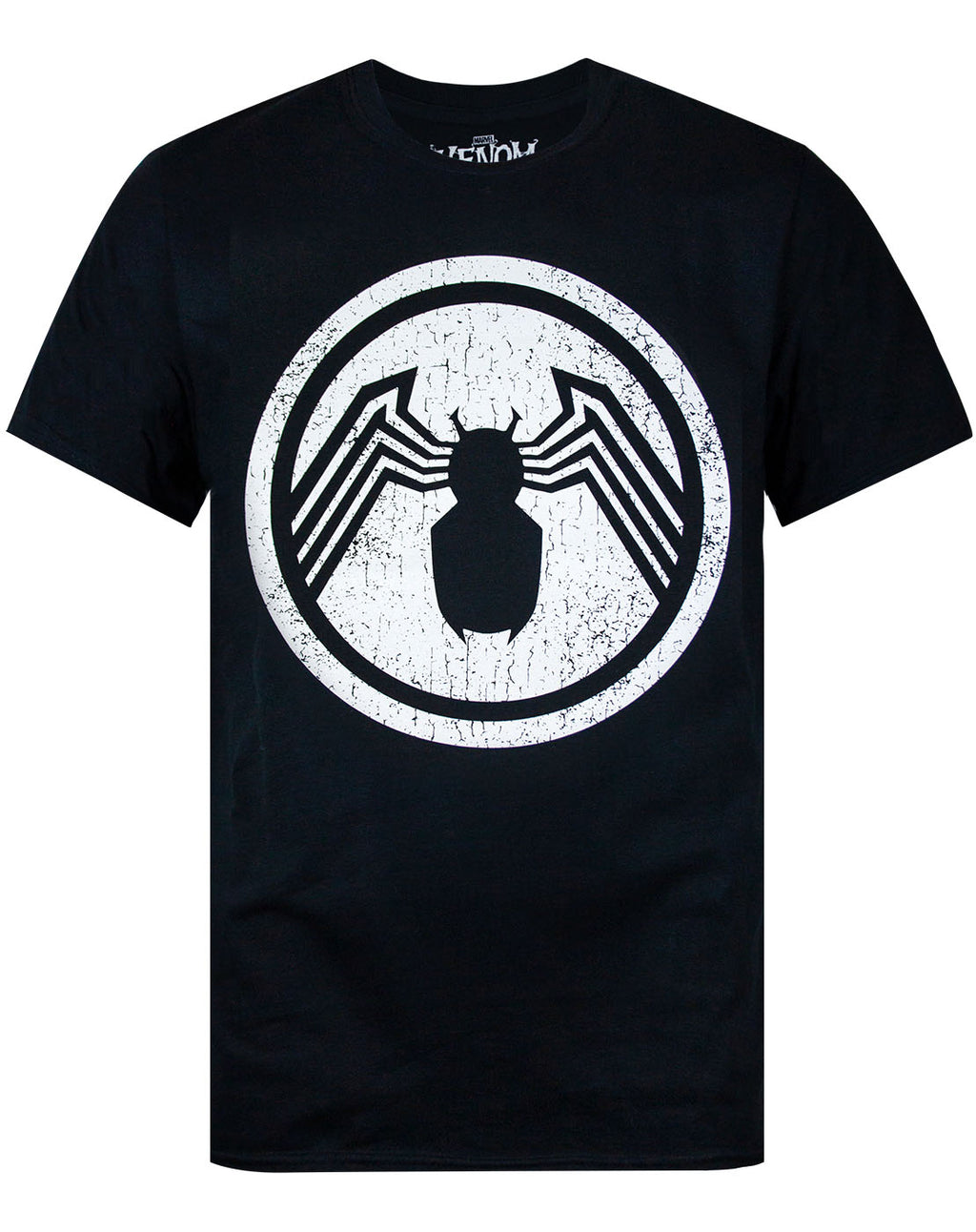 Marvel Venom Distressed Logo Men's T-Shirt