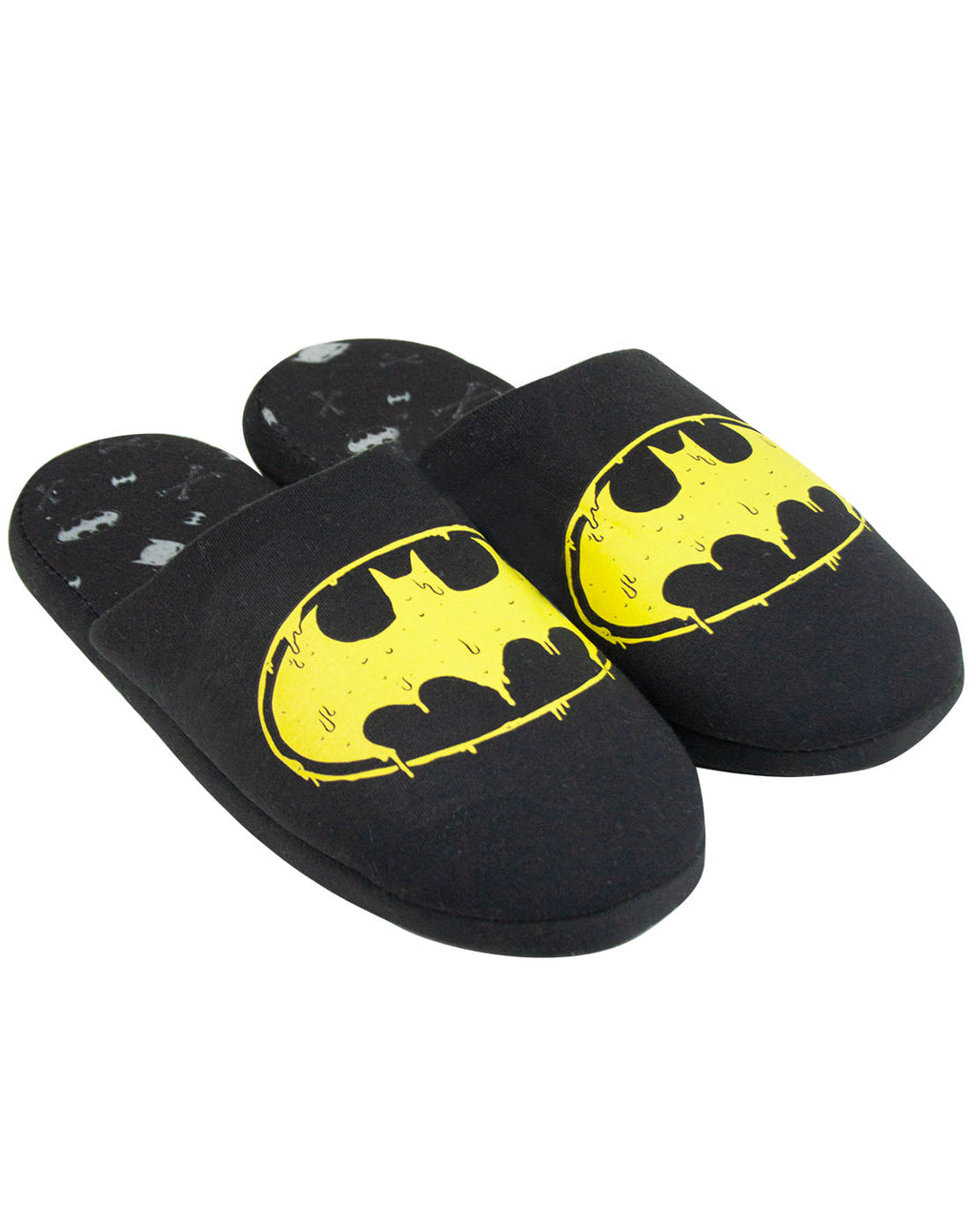 DC Comics Batman Logo Men's Slippers