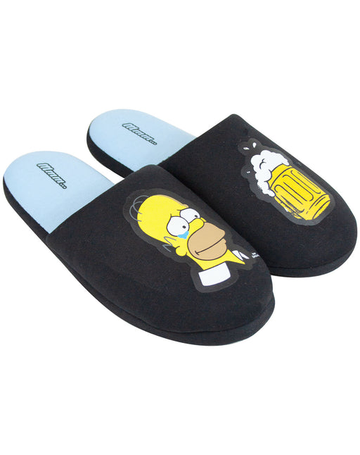 The Simpsons Homer Mens Slippers