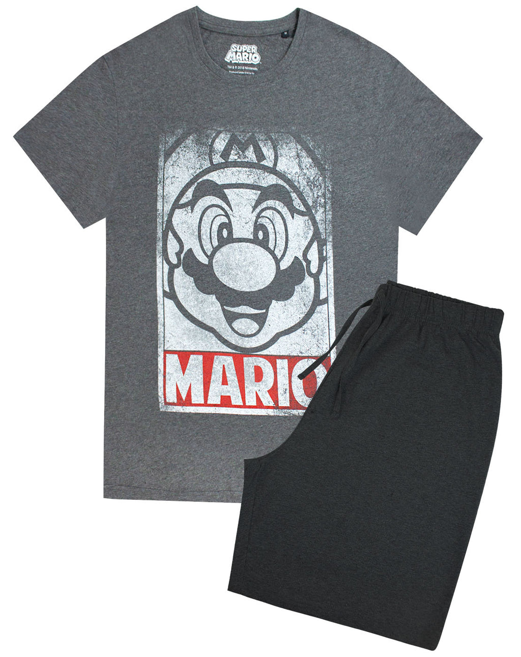 Super Mario Men's Pyjama Lounge Set