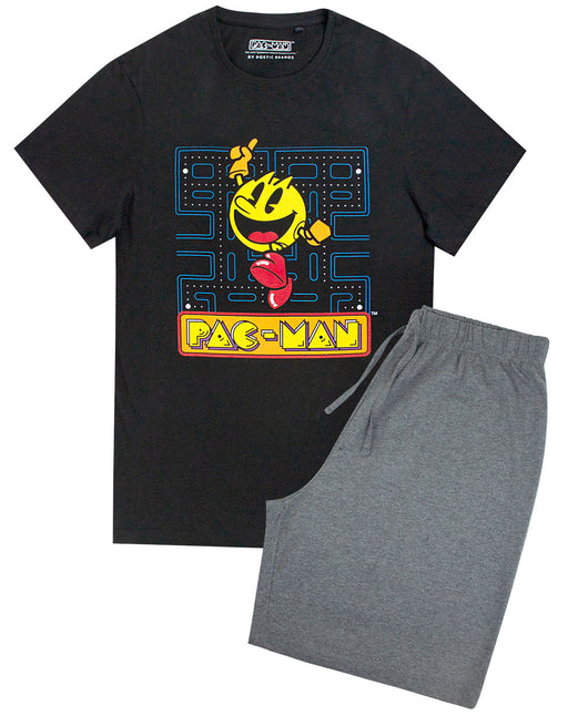 Pac Man Retro Gaming Men's Pyjama Lounge Set