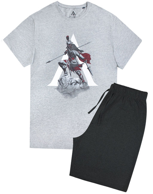 Assassins Creed Men's Pyjama Shorts Lounge Set