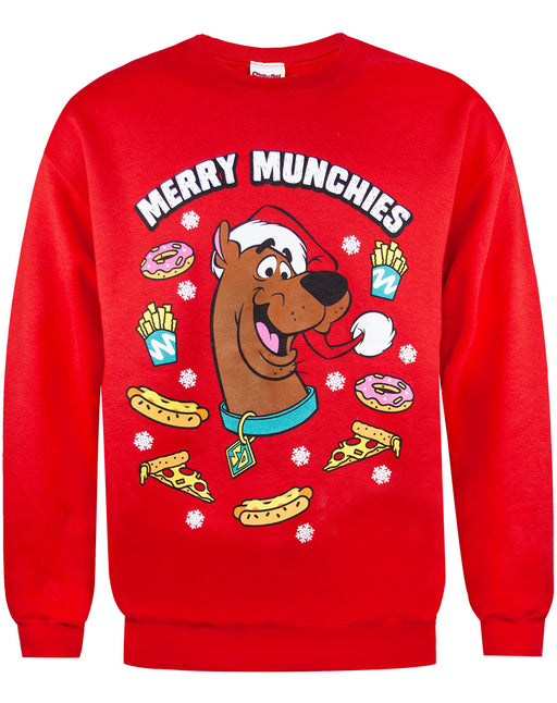 Scooby Doo Merry Munchies Christmas Sweatshirt