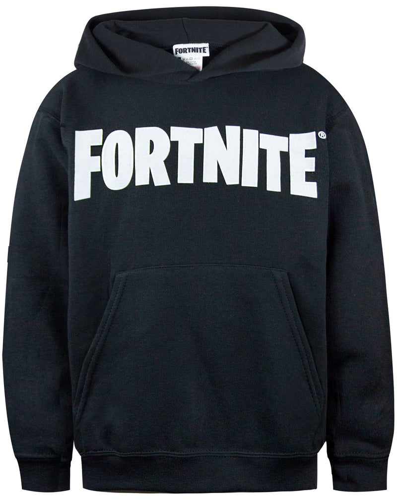 Fortnite Logo Mens Black Hoodie