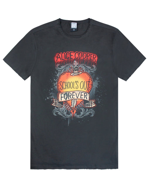 Amplified Alice Cooper Schools Out Mens T-Shirt