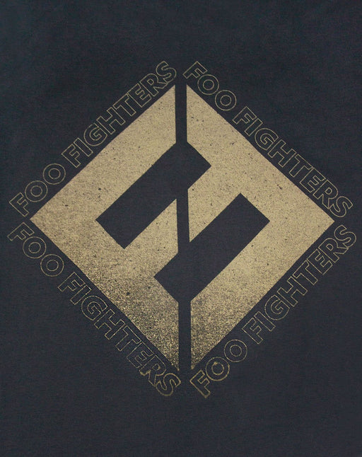 Amplified Foo Fighters Concrete And Gold Men's T-Shirt