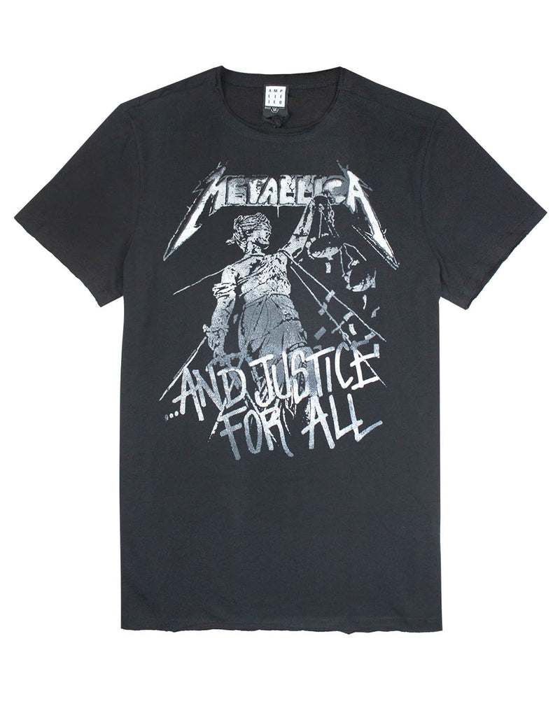 Amplified Metallica Justice For All Mens T-Shirt