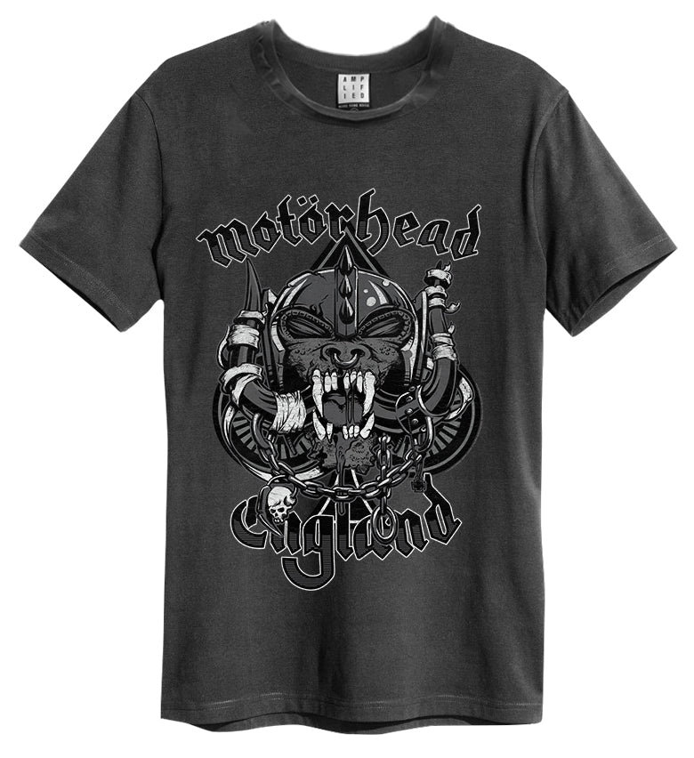 Amplified Motorhead Snaggletooth Mens T-Shirt
