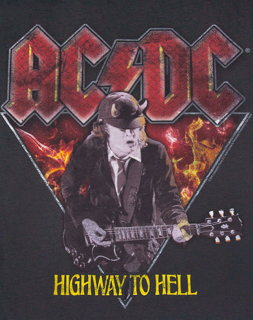 Amplified AD/DC Highway to Hell Angus Young Mens T-Shirt